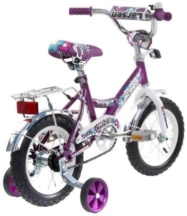 Велосипед Larsen Kids 12 2016 Фиолетовый