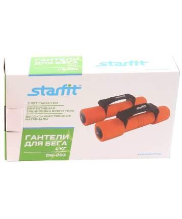 Гантель неопреновая StarFit DB-203 1 кг
