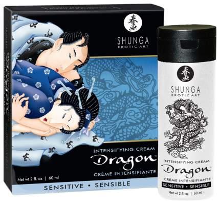 Интимный крем Shunga Dragon Sensitive для мужчин 60 мл