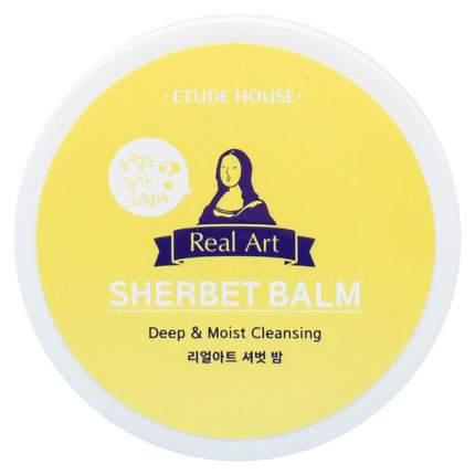 Средство для снятия макияжа Etude House Real Art Sherbet Balm 150 мл