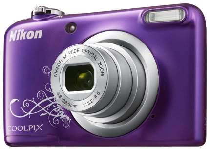 Фотоаппарат цифровой компактный Nikon Coolpix A100 Purple Lineart