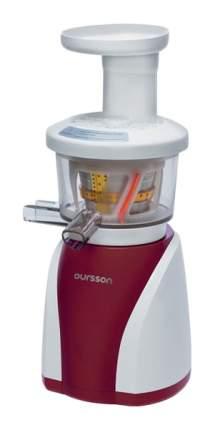 Соковыжималка шнековая Oursson JM8002/DC red