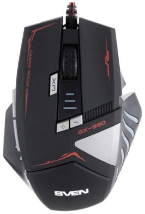 Проводная мышка Sven GX-990 Gaming Black