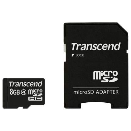 Карта памяти Transcend Micro SDHC TS8GUSDHC4 8GB