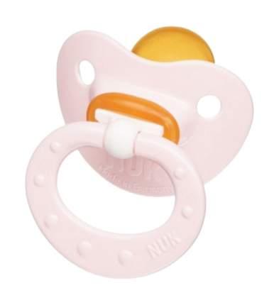 Соска-пустышка для сна латексная с кольцом Baby Rose р. 2 Nuk