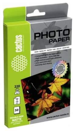 Фотобумага для принтера Cactus Standart CS-MA622050DS Белый 50 листов