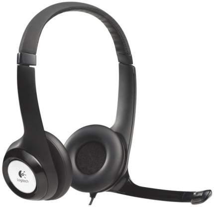 Гарнитура для компьютера Logitech USB Headset H390 Black