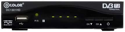 DVB-T2 приставка D-COLOR DC1301HD black