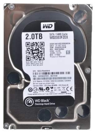Внутренний жесткий диск Western Digital Black 2TB (WD2003FZEX)