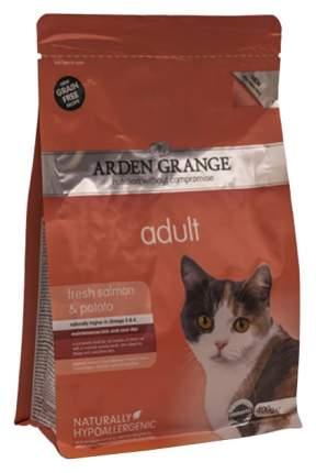 Сухой корм для кошек Arden Grange, беззерновой, лосось, 0,4кг