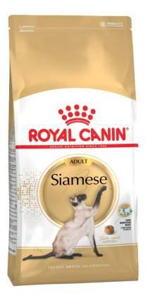 Сухой корм для кошек ROYAL CANIN Siamese Adult, сиамская, домашняя птица, 2кг
