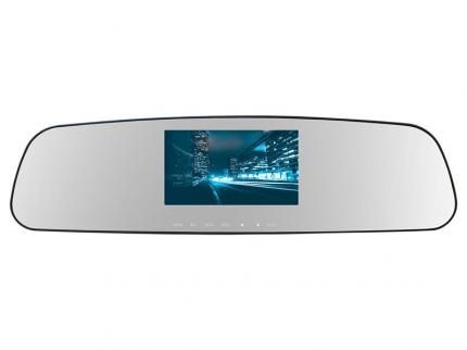 Салонное зеркало заднего вида с регистратором TrendVision GPS MR-710GP