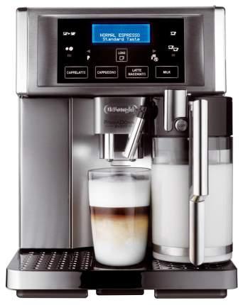 Кофемашина автоматическая DeLonghi PrimaDonna Avant ESAM 6704 Серебристый, черный