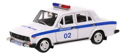 Коллекционная модель Carline 1:43 Lada 2106 - Милиция