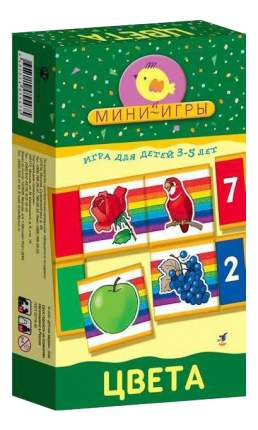 Настольная мини-игра Дрофа-Медиа Цвета