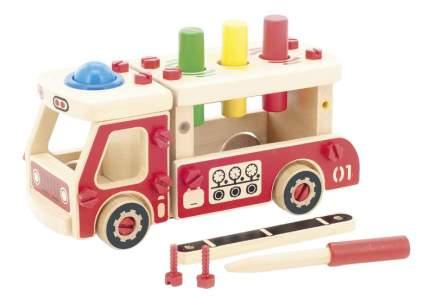 Конструктор деревянный Игрушки из дерева Машина