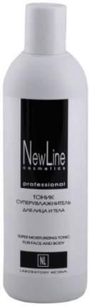 Тоник для лица и тела New Line с лимфодренажным эффектом, 330 мл