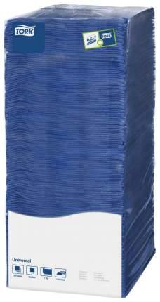 Бумажные салфетки Tork universal однослойные синие 25*25 см 500 штук