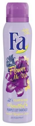 Дезодорант Fa Flower Me Up Лилия 150 мл