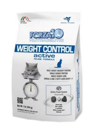 Сухой корм для кошек Forza10 Activ Line Weight Control, при ожирении, рыба, 0,454кг
