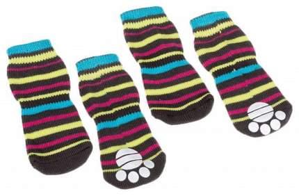 Носки для собак Ferplast размер S, 4 шт разноцветный