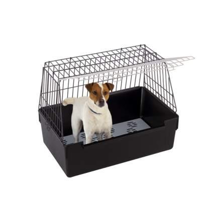 Автобокс для собак Ferplast ATLAS VISION Smal 41x71x51см черный