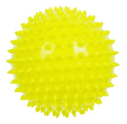 Мячик детский Альпина Пласт Ёжик 120 мм желтый