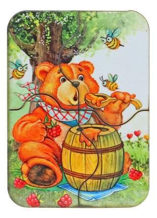 Пазл Мастер игрушек медведь 6 деталей
