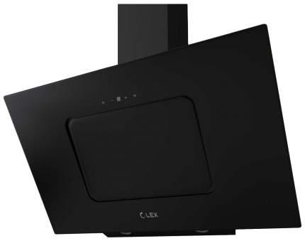 Вытяжка наклонная LEX Luna 900 Black