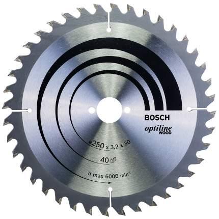 Диск по дереву Bosch STD WO 250x30-40T 2608640728