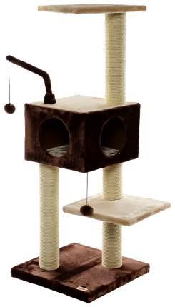 Комплекс для кошек FAUNA INTERNATIONAL Игровая площадка REVIZO коричневая/бежевая
