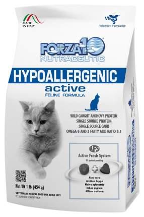 Сухой корм для кошек Forza10 Activ Line Hypoallergenic, гипоаллергенный, анчоус, 0,454кг