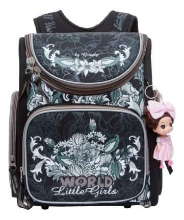 Рюкзак для девочки Grizzly RA-771-3 черный