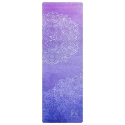 Коврик для йоги Yoga Club Ом VIO270b фиолетовый 3 мм