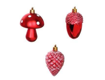 Набор елочных игрушек Edelman рождественский лес 3шт