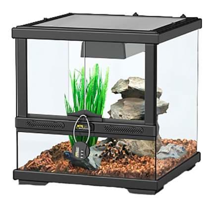 Террариум для рептилий Aquatlantis Smart Line, черный, 45 x 45 x 45 см