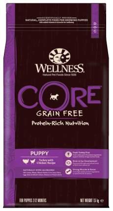 Сухой корм для щенков Wellness CORE Small Breed Puppy, для мелких пород, птица, 1,5кг