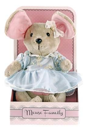 Мягкая игрушка Fluffy Family Мышка Вaby Mouse Капелька 25 см Бежевый 681209