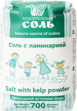 Соль поваренная пищевая Гарнец с ламинарией 700 г