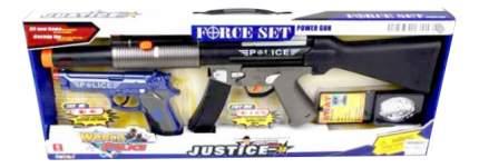 Игровой набор Полиция автомат, пистолет, значок Shantou Gepai 34190