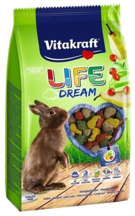 Корм для кроликов Vitakraft LIFE DREAM 0.6 кг 1 шт