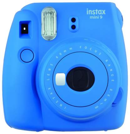 Фотоаппарат моментальной печати FUJIFILM SET CHAMPION Instax Mini 9 Blue