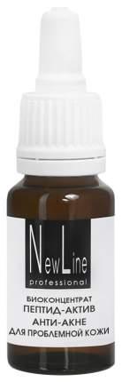 Сыворотка для лица New Line Cosmetics Пептид-актив анти-акне для проблемной кожи