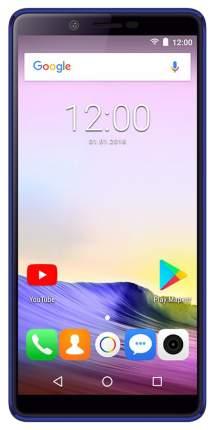 Смартфон teXet TM-5581 B синий, золотистый