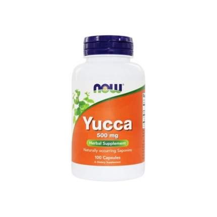 Комплексное средство для суставов и связок NOW Yucca 100 капс.