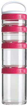 Бутылка Blender Bottle GoStak Starter 4 кам. 150 мл малиновый