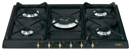 Встраиваемая варочная панель газовая Smeg SPR876AGH Black