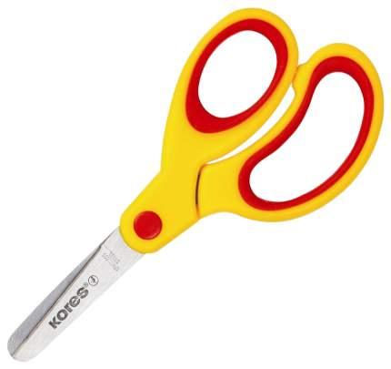 Ножницы канцелярские Kores Softgrip Желтый, красный