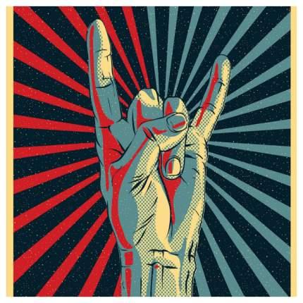 Постер из ткани вертикальный «Рок наше все» JoyArty tp_16476