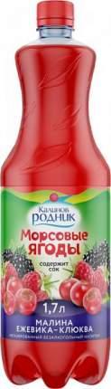 Напиток Калинов Родник морсовые ягоды малина-ежевика-клюква 1.7 л